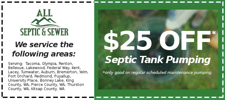 Septic Pumping Coupon for $25 Off
